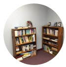 Check out our lending library for books, DVD's and other resources.